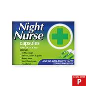 Picture of Night Nurse Capsules 10's (P) - 0092767
