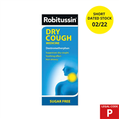 Picture of Robitussin Dry Cough 100ml (P) EXP 2.22 - 0150961SD