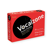 Picture of Vocalzone Throat Pastilles 24s - 0305953
