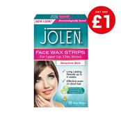 Picture of Jolen Facial Wax Strips 16's - 0478032