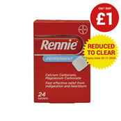 Picture of Rennie Peppermint 24s - 0598276