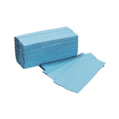 Picture of H/Towels C Fold Blue 310mm 12 Pks(200) - 11010YY10