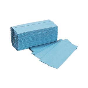 Picture of H/Towels C Fold Blue 310mm 12 Pks(200) - 11010YY10