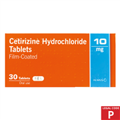 Picture of Almus Cetirizine 10mg Tablets 30's (P) - 1106848