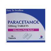 Picture of Paracetamol Tablets BP 500mg 16's - 1133156