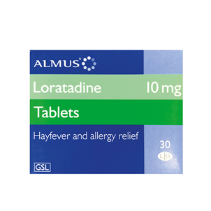 Picture of Almus Loratadine 10mg Tablets 30's - 1149301