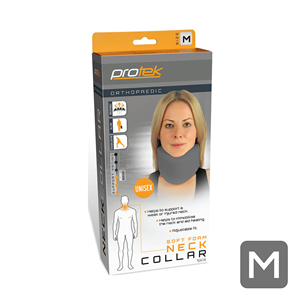 Picture of Protek Grey Soft Foam Neck Collar-Medium - 20953