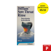 Picture of Difflam Throut/Mth Wsh 200ml(P) EXP 5.22 - 2240398SD