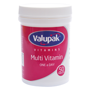 Picture of Valupak MultiVitamins OAD Pk50 - 2289502