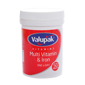 Picture of Valupak Multi Vits & Iron OAD 50s - 2509651