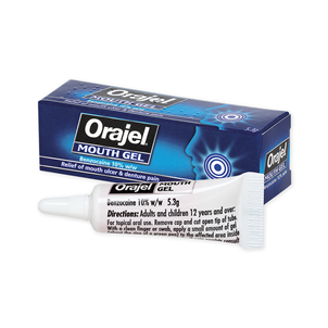 Picture of Orajel Oral Mouth Gel 5.3g - 2760270