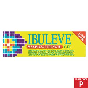 Picture of Ibuleve Maximum Strength Gel 50g (P) - 2857050