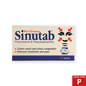 Picture of Sinutab Non Drowsy Tablets (P) 15's - 2874691