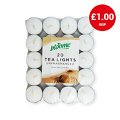 Picture of Bloome Tea Lights Unfragranced Pk20 - 311684