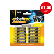 Picture of Excelltec AAA Zinc Carbon 11Pk - 316483