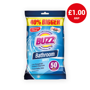 Picture of Buzz Bathroom Wipes 50s - 319365