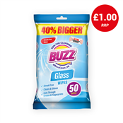 Picture of Buzz Glass Wipes 50s - 319366