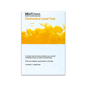 Picture of SELFCheck Cholesterol Test - 3196938