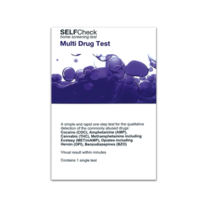 Picture of SELFCheck Multi Drug Test - 3196979