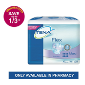 Picture of Tena Flex Maxi Extra Large 21's - 3201209