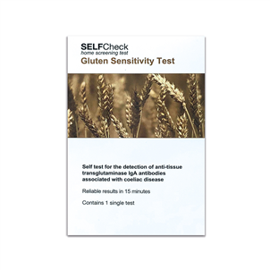 Picture of SELFCheck Gluten Sensitivity Test - 3257896