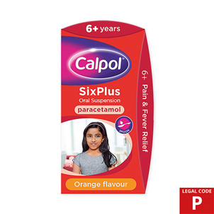 Picture of Calpol Six Plus Suspension 200ml (P) - 3285673