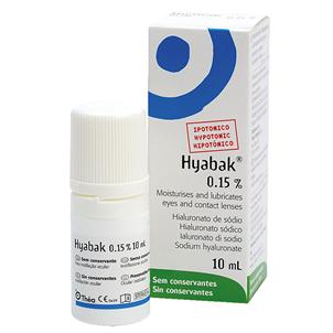 Picture of Hyabak Ocular Eye Drops P/Tiv Free 0.15% - 3355112