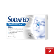 Picture of Sudafed Decongestion Tablets (P) - 3570603