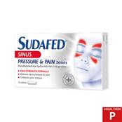 Picture of Sudafed Sinus Pressure & Pain Tabs (P) - 3570637