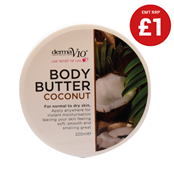 Picture of DermaV10 Coconut Body Butter 220ml - 362342