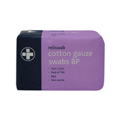Picture of Cotton Gauze Swabs BP 8Ply 5x5cm 100PK - 371