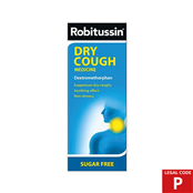 Picture of Robitussin Dry Cough S/Free 250ml (P) - 3720950