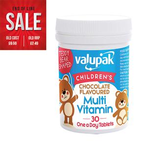 Picture of Valupak Childrens Multi Vitamins PK30 - 4061636
