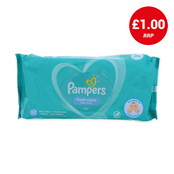 Picture of Pampers Baby Fresh Clean 52's - 4093233
