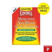 Picture of Covonia Lozenges Menthol S/Free (P)4/22 - 4100202SD