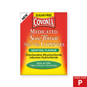 Picture of Covonia Lozenges Menthol Sugar Free (P) - 4100202