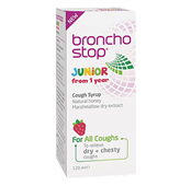 Picture of Bronchostop Junior Syrup 120ml - 4107660