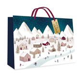 Picture of Village Design Gift Bag Medium - 7248