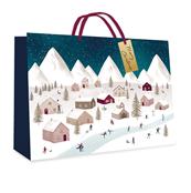 Picture of Village Design Gift Bag Large - 7249