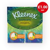 Picture of Kleenex Balsam Pocket Tissues 3x12 Pk2 - 74197