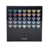 Picture of Heart Make Up Palette Set - 8092600