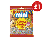 Picture of Chupa Chups Mini Lollipops £1 PMP 15's - 8402359