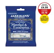 Picture of Jakemans Menthol & Eucalptus 100g - 996051