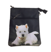Picture of Animal Print Bag With Westie - ANCB04