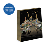 Picture of Bethlehem Design Medium Gift Bag - BUG0129