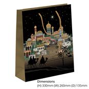 Picture of Bethlehem Design Large Gift Bag - BUG0130