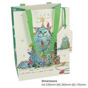 Picture of Cat Tree Medium Gift Bag - BUG0282
