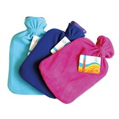 Picture of 2 Litre Hot Water Bottle & Fleece Cover - CS01415