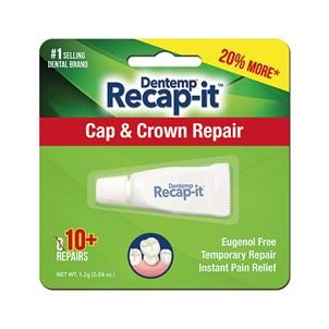 Picture of Dentemp Recap-It Cap & Crown Repair 1g - D270TE