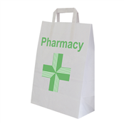 Picture of Pharmacy Large Paper Bags PK200 - EMTC1